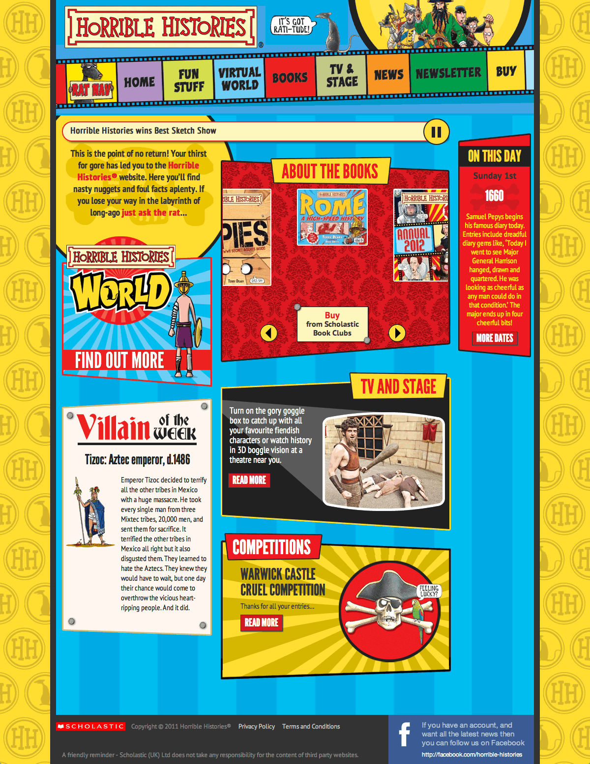 Horrible Histories - Homepage