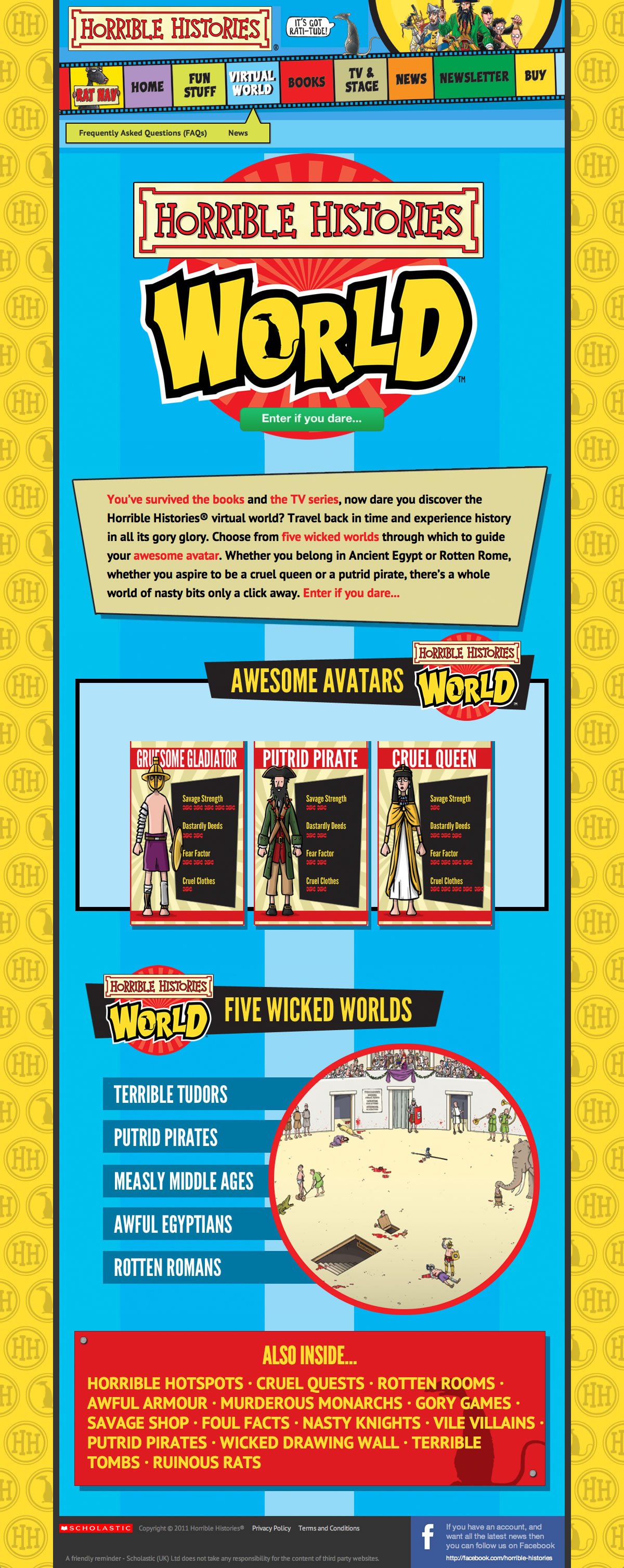 Horrible Histories - Virtual World